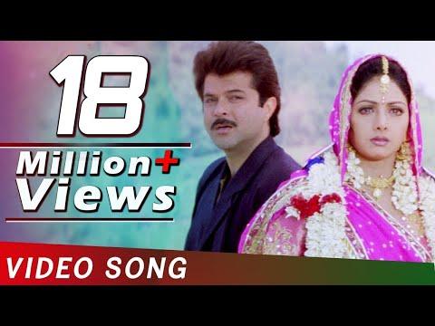 Jaanam Meri Jaanam   Sridevi   Anil Kapoor   Nagarjuna   Mr. Bechara   Full 4K Video Song
