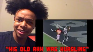 Best HURDLES In FOOTBALL HISTORY PART 2 REACTION