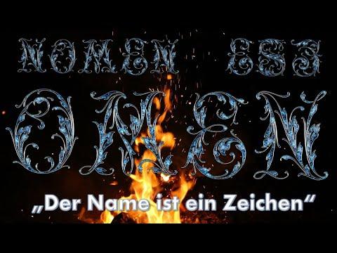 Nomen est Omen - Der Name ist ein Zeichen