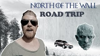 ROADTRIP NORTH OF THE SWEDISH WALL!