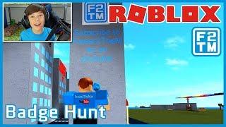 Roblox Badge Hunt | Fraser2TheMax | Roblox Kid Gamer