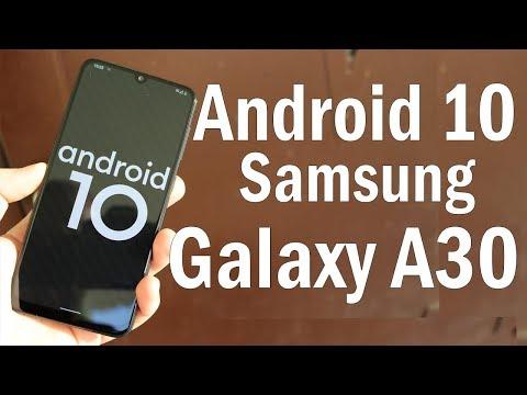 Установил Android 10 на Galaxy A30 | ЧИСТЫЙ АНДРОИД ЭТО КРУТО
