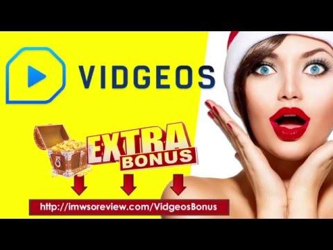 VIDGEOS Review - EXTRA $99,899 Bonus for Vidgeos Lifetime
