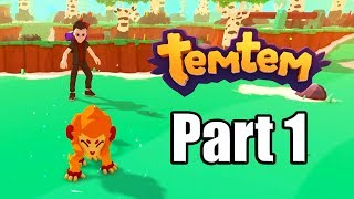 TEMTEM Gameplay Walkthrough Part 1 - No Commentary [PC Steam 1080p]