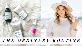 THE ORDINARY Skincare Routine | Dry Skin During Pregnancy
