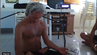Simon Borg-Olivier slowing his heart beat from 88 to 32 beats per minute in 45 seconds