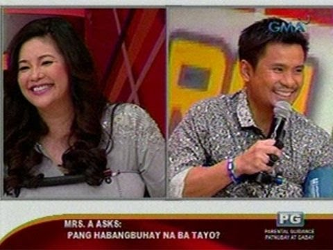 SC: Regine at Ogie Alcasid sa Don't Lie to Me Reloaded