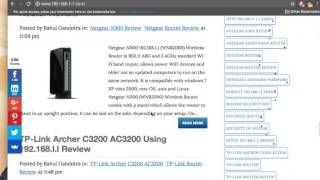 192.168.l.254 Login Admin IP Address Configuration