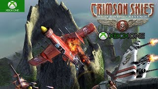 Crimson Skies: High Road to Revenge Xbox One S Backwards Compatible Gameplay HD 1080P
