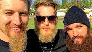 MAKING A BEAT WITH OUR BEARDS w/ Elton Castee