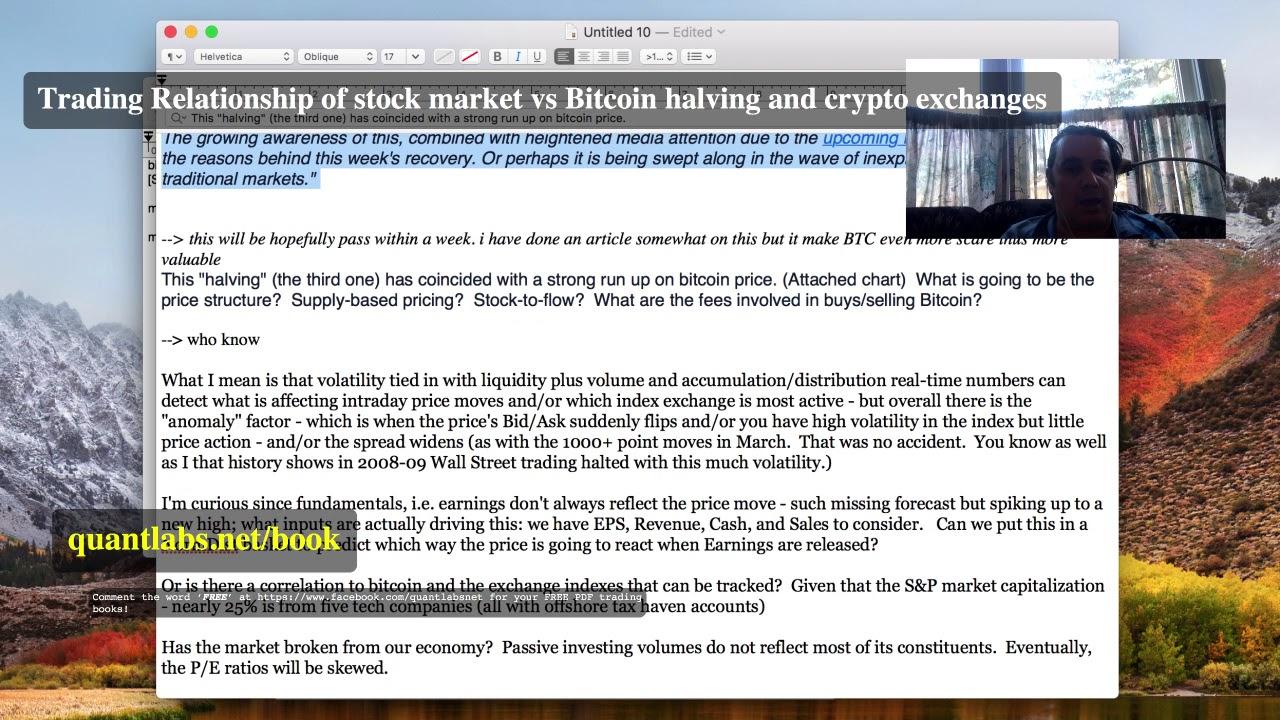 cryptocurrency vs stock market trading