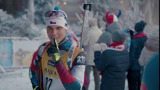 Spot Hamé fandí biatlonu l 10 s l Májka od Hamé