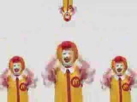 麥當勞叔叔洗腦影片 Crazy MCdonalds(黑暗洗腦儀式版)