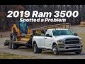 2019 RAM 3500... best yet?  TOWING 35,000LBS PROBLEMS I SEE.