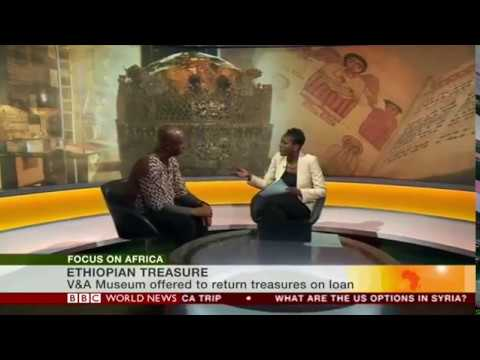 BBC Focus on Africa (100418) - Should looted Ethiopian treasures be returned