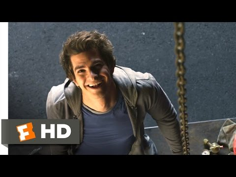The Amazing Spider-Man - Love Struck Skateboarding Scene (2/
