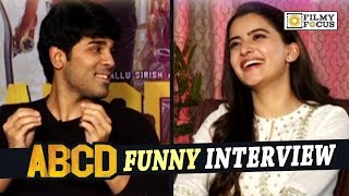 Allu Sirish and Rukshar Funny Interview about ABCD Movie - Filmyfocus.com