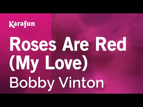 Karaoke Roses Are Red (My Love) - Bobby Vinton *
