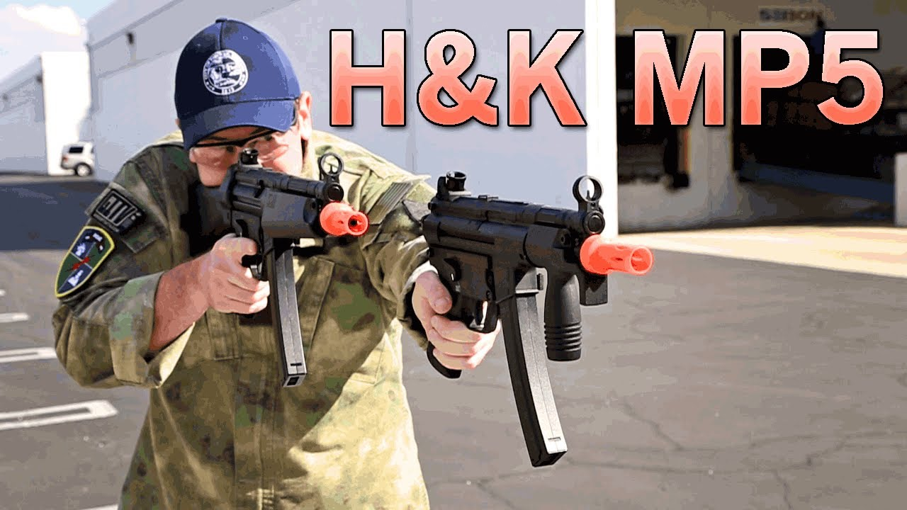 Elite Force H&K MP5 - Great CQB Guns at an Affordable Price! | Airsoft GI