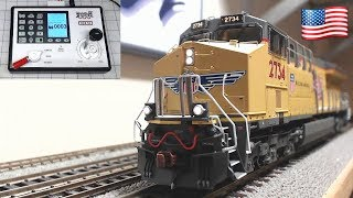Digitrax Zephyr DCS 52 testing CSXT ET44AH GE Tier 4 GEVo CSX UP HO Scale Trains