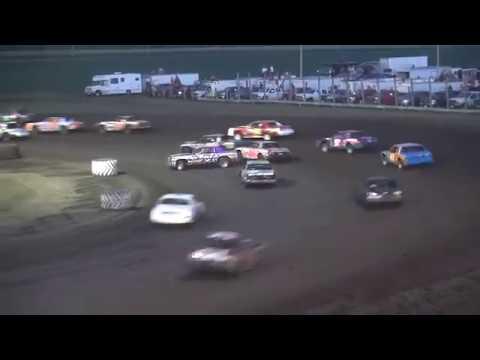IMCA Hobby Stock feature Benton County Speedway 8/4/19