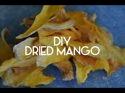 DIY Dried Mango Recipe - A Floral Crown