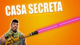 HIDDEN HOUSE IN FORTNITE BATTLE ROYALE FORTNITE SECRET LOCATION