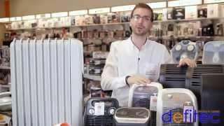 Thomas vous présente les radiateurs électriques - Electros et Cuisines DEFITEC