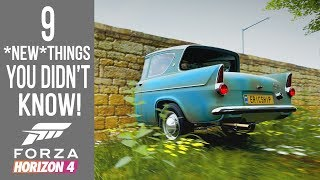 Forza Horizon 4 - 9 NEW Secrets, Easter Eggs & Glitches You Didn't Know!