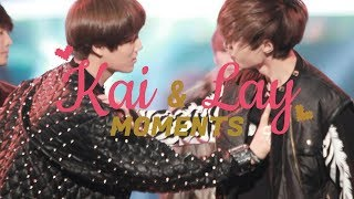 EXO Kai and Lay Moments (Kaixing) — I Think I'm in Love Again