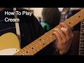 Cream prince guitar tutorial mp3