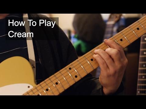 Cream Prince Guitar Tutorial
