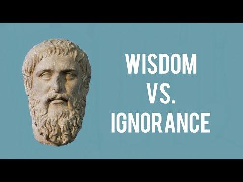Plato On Justice, Wisdom Vs. Ignorance