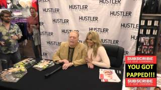 Larry Flynt and Alexis Texas at the Hustler Hollywood New Store Opening in Hollywood