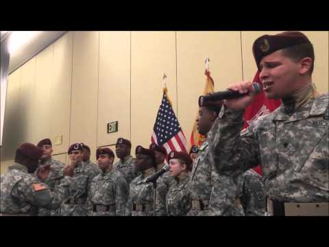 Phenomenal!  82d All American Chorus Singing  American Soldier