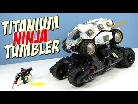 LEGO Ninjago Titanium Ninja Tumbler with Zane and Batman?