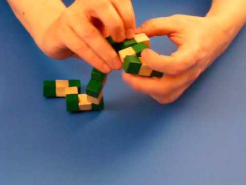 snake cube puzzle solution l sung der wuerfelschlange youtube. Black Bedroom Furniture Sets. Home Design Ideas