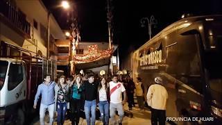 Pasacalle Fiestas Patronal 2017 Huari Ancash
