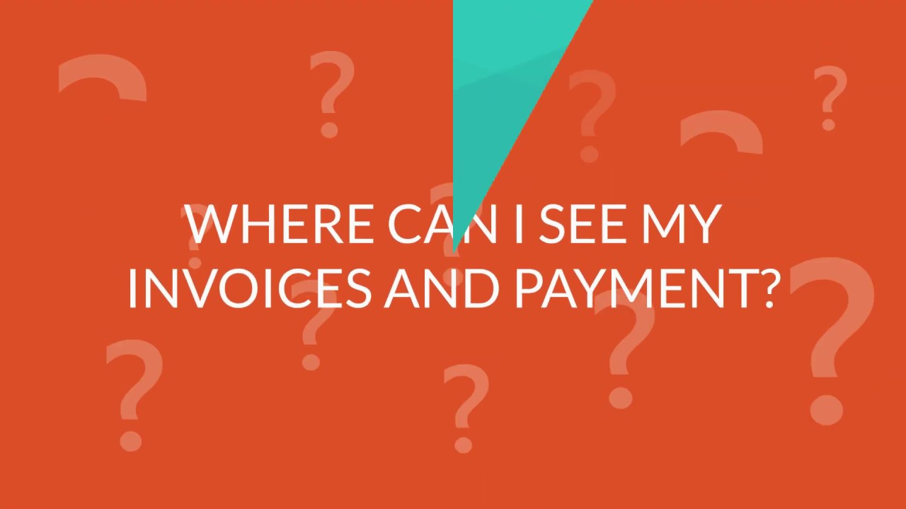 FAQ ADMIN - WHERE CAN I SEE MY INVOICES AND PAYMENT?