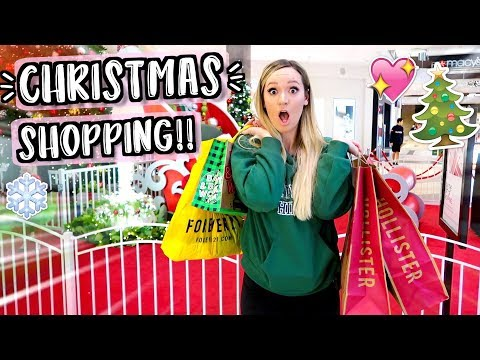 Download Youtube: Christmas Shopping! Vlogmas Day 13!!