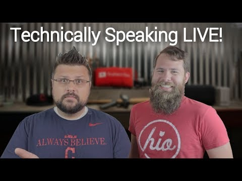 100% more Travis McP, Tech, Videography and more! - Technically Speaking Live. Episode 3!