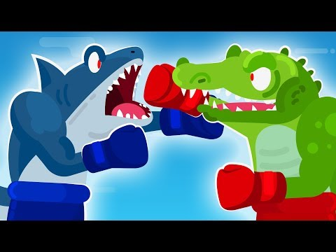 CROCODILE vs GREAT WHITE SHARK – Who Would ACTUALLY Win?