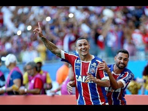 Bahia 4 x 1 Vitória  - Brasileirão 2018 - Globo Esporte