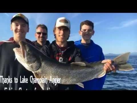 Lake Champlain Trout Fishing Summer 2016