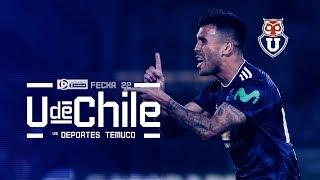 Universidad de Chile vs Deportes Temuco - Fecha 22