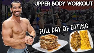 Full Day of Eating   Upper Body Workout   Bringing Back The Bear Ep. 11