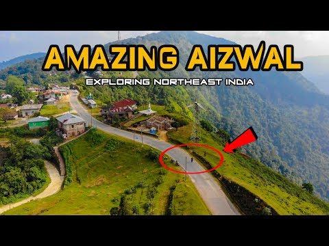 AMAZING AIZAWL 🔥  Silchar to Mizoram Aizawl Story - Northeast India