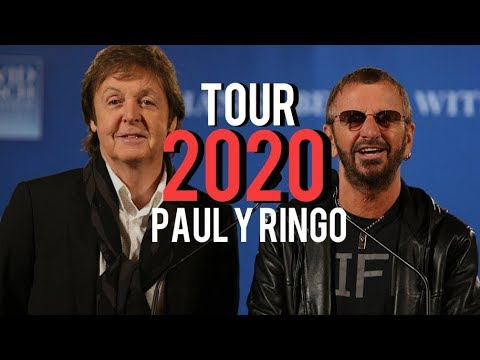 Paul Mccartney Tour 2020 Paul e Ringo   YouTube
