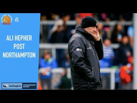 Chiefs TV - Ali Hepher post Gallagher Premiership post Northampton Saints