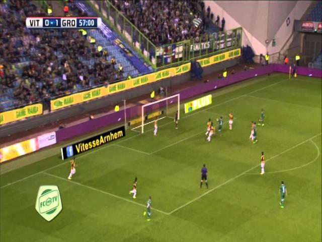 Samenvatting Vitesse - FC Groningen 1-4 (2014)